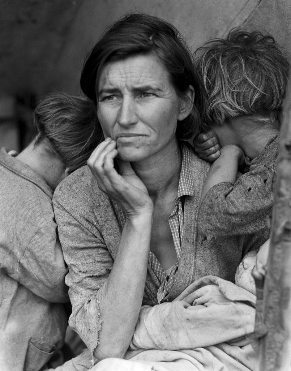 Dorothea Lange, Migrant Mother,