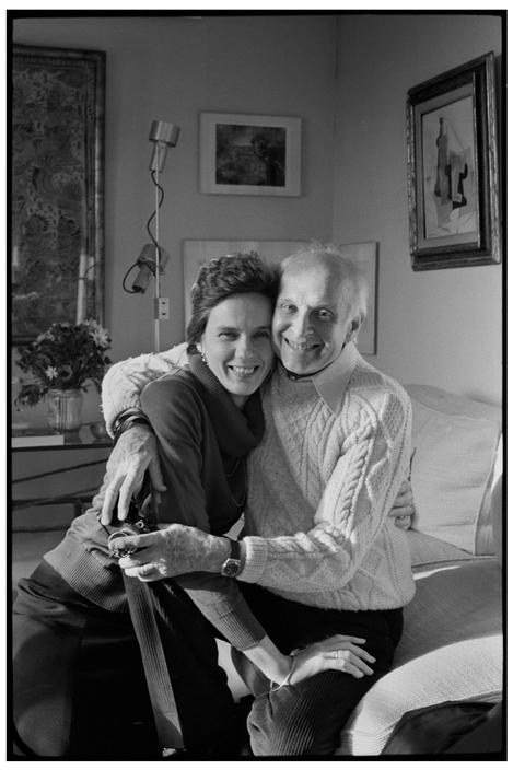 Henri and Martine © Andre Kertesz, 1980.